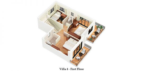 Villa 4 – First Floor
