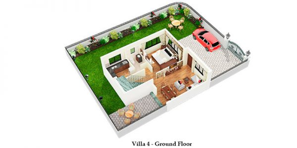 Villa 4 – Ground Floor